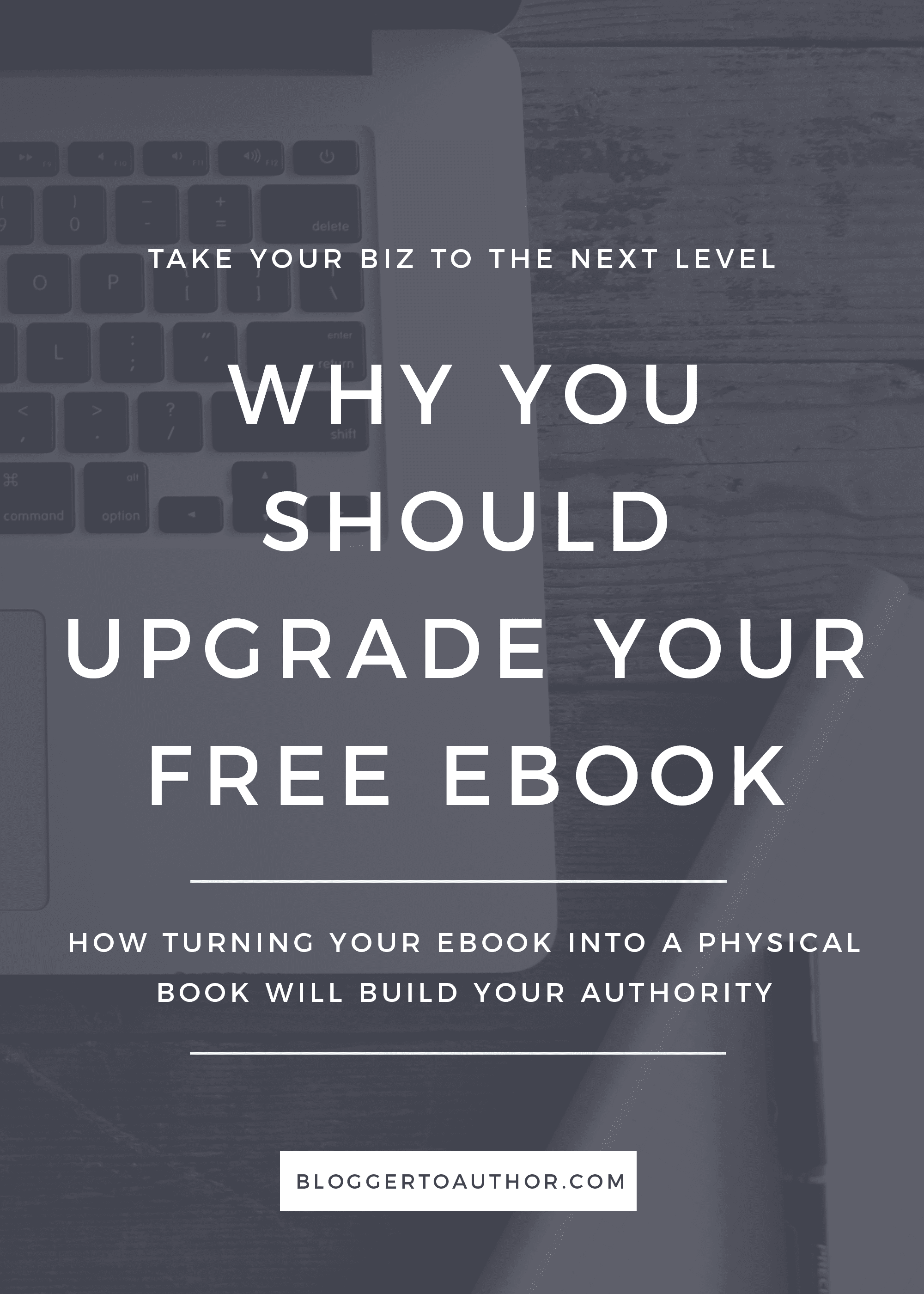 Why You Should Upgrade Your Free Ebook