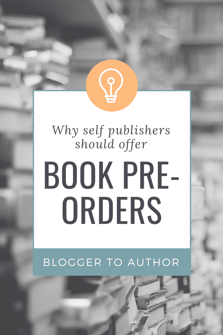 Why you should offer book pre-orders. Three great reasons to offer pre-orders, plus tips on how to take pre-orders.