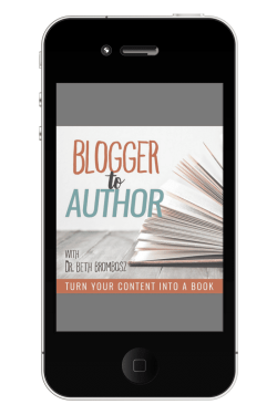Don't miss the Blogger to Author Podcast!