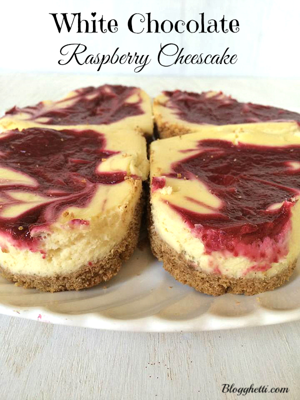 White Chocolate Raspberry Cheesecake 1