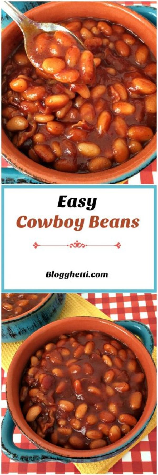 These Cowboy Beans have a sweet and tangy taste to them thanks to the honey and the chili pepper. They looked divine and the clincher, for me, was that from start to finish it took less than 30 minutes to make.