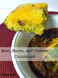 Beer, Bacon, and Cheese Cornbread