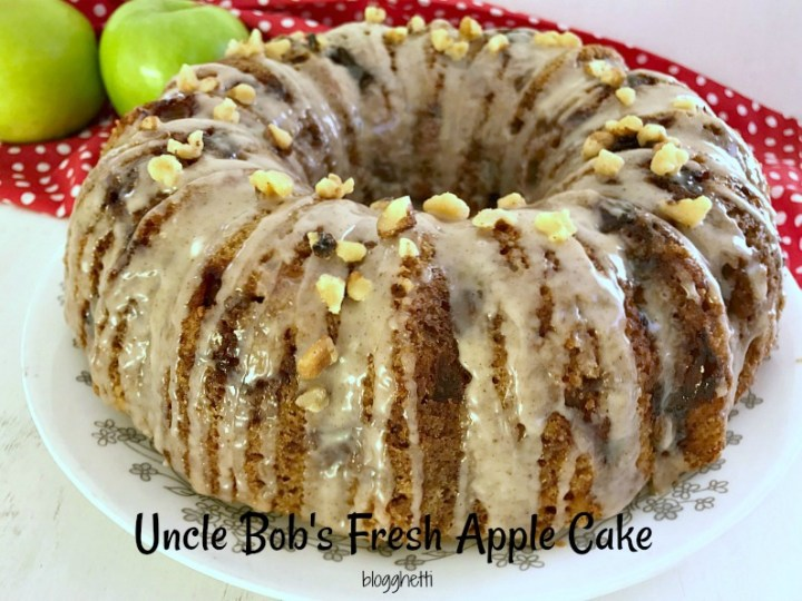 Uncle Bob's Fresh Apple Cake