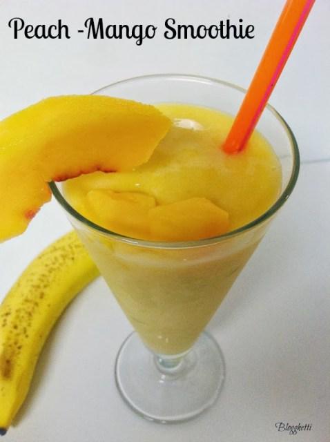 Peach-Mango Smoothie
