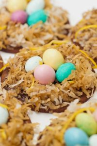 Springtime Treat: Coconut Bird's Nests