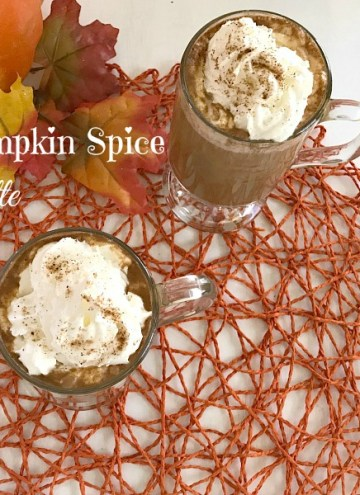 Enjoy this Homemade Pumpkin Spice Latte anytime by making the coffee-house drink at home. Using real pumpkin, spices and coffee will have you making this warm fall favorite anytime the craving hits.