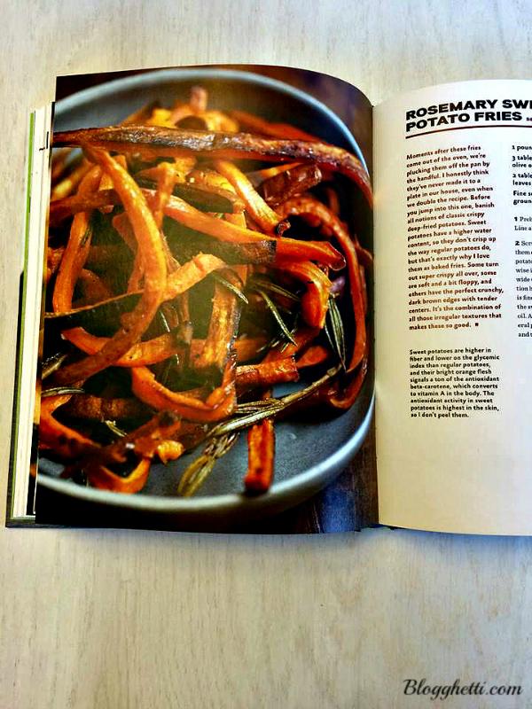 Cookbook sample
