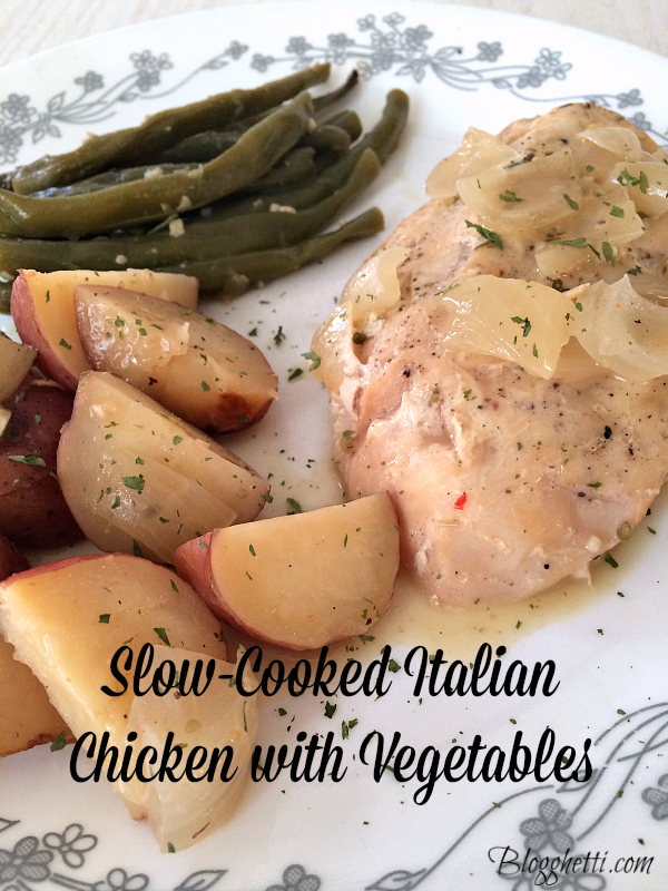 Slow-Cooked Italian Chicken with Vegetables