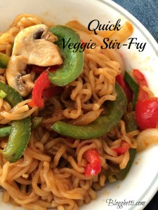 Meatless Monday – Quick Veggie Stir-Fry