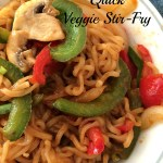 Meatless Monday - Quick Veggie Stir-Fry