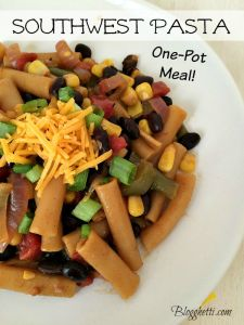 Meatless Mondays – Southwest Pasta