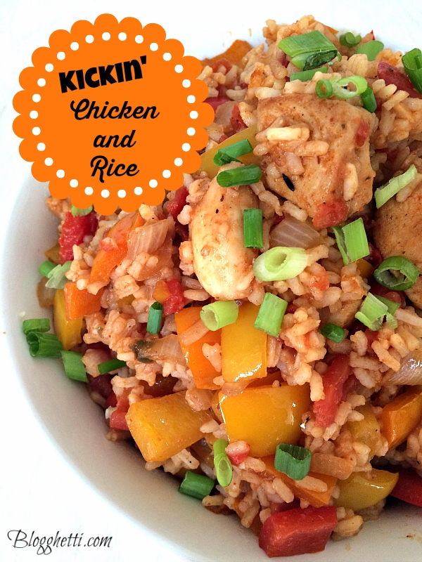 kickin chicken and rice
