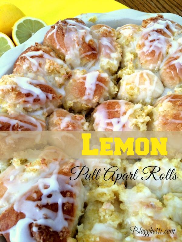 lemon pull apart rolls