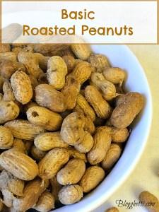 DIY:  Basic Roasted Peanuts