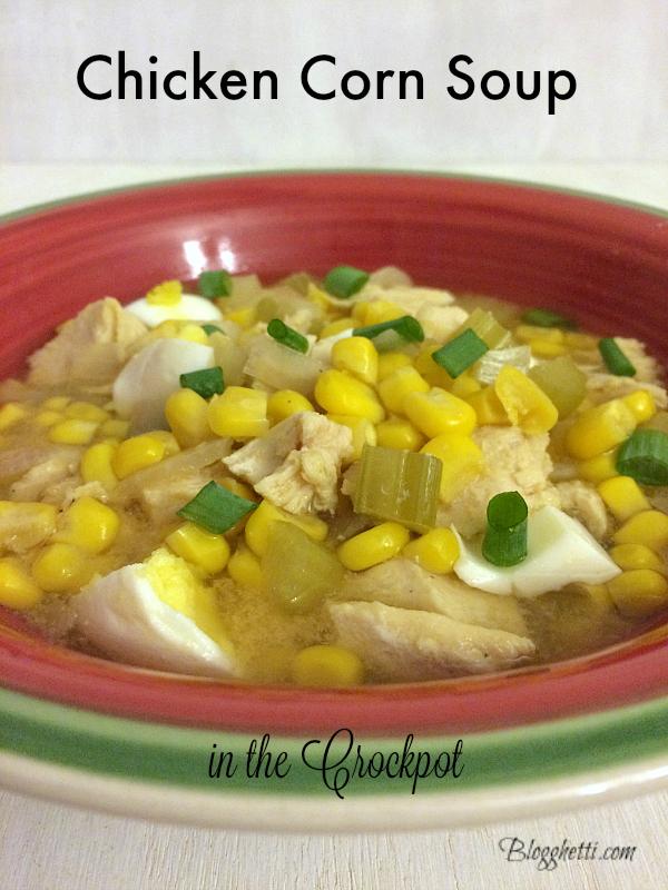 PA Dutch Chicken Corn Soup