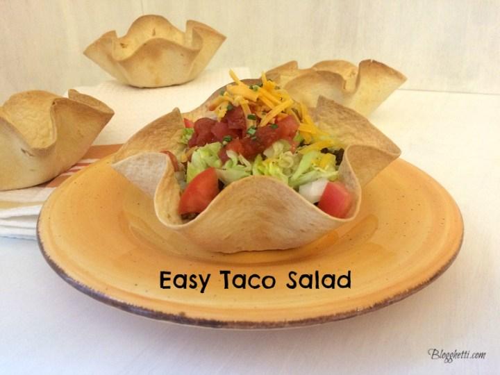 Easy Taco Salad2