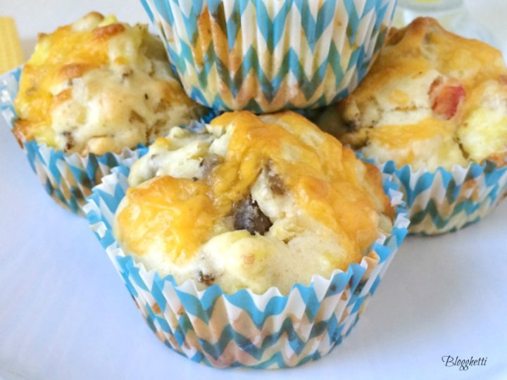 On the go Breakfast Muffins - feature