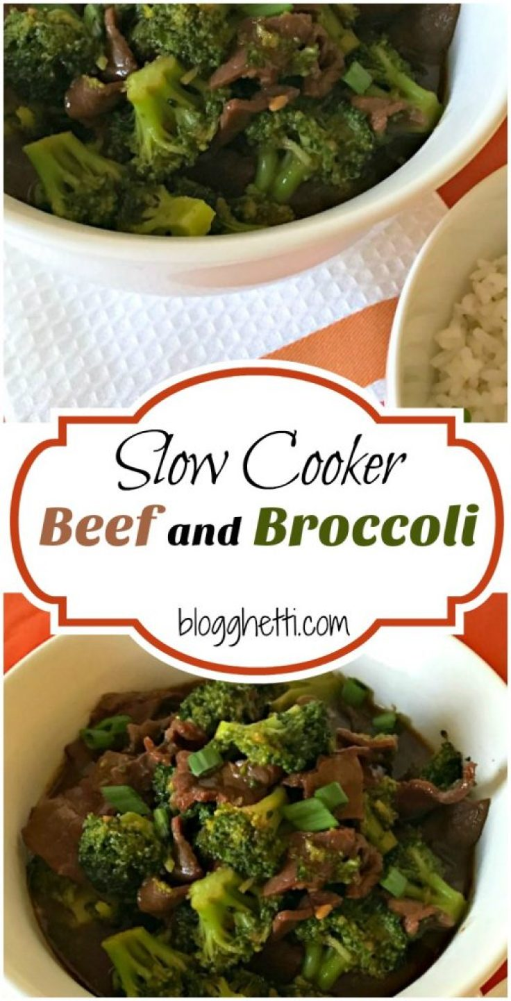 This Slow Cooker Beef and Broccoli is a classic take-out meal that you can make at home. Healthier, easy to make, and delicious to eat. Perfect dinner for when you are super busy or just too tired to be thinking about what to make at the end of your day.