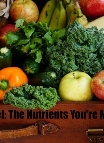 If you suspect you might be running low on any of these nutrients, don't worry. Some simple diet changes are all you need to turn things around. Here are some ways you can get a few of these vital vitamins and nutrients back into your diet.