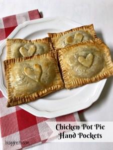 Easy Chicken Pot Pie Hand Pockets