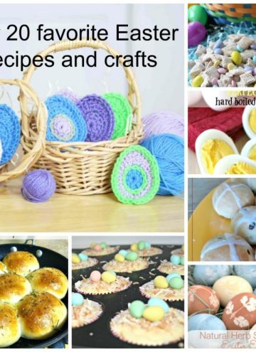 In case you missed it last week, we have a special Easter treat for you. The Happiness is Homemade hosts gathered some of our favorite Easter recipes and crafts to share with you. Get some last minute inspiration for your Easter feast (and ideas for the leftovers too.)