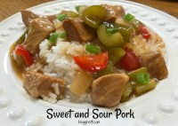 Simple-and-Delicious-Sweet-and-Sour-Pork-over-Rice