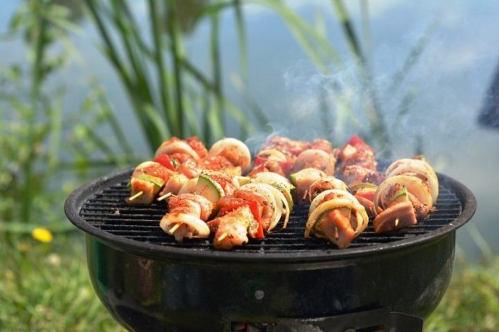 Needless to say, with the right amount of thought, preparation, and humor, your first BBQ of the season is sure to be a good time for all. Happy grilling!