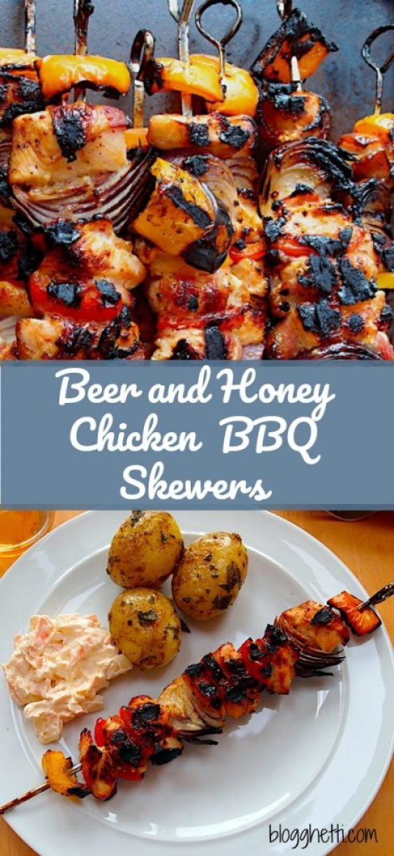 When it's too hot to heat up the kitchen, or when you just want to turn ordinary barbecued chicken into something special, this recipe will do the job beautifully.