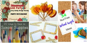 Happiness is Homemade: Back to School Ideas #2