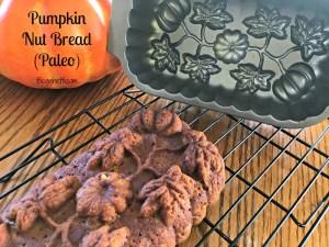 Paleo Pumpkin Nut Bread