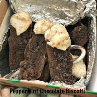 Peppermint Chocolate Biscotti from Fix Me a Little Lunch