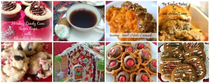 Happiness is Homemade Holiday Round Up from your Hostesses