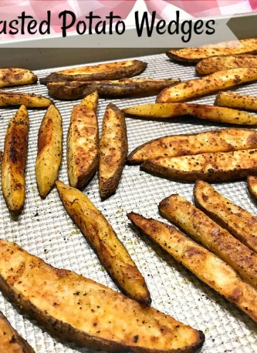 Oven-Roasted Potato Wedges