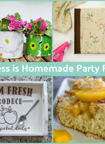 Welcome back to the Happiness is Homemade Link Party