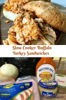 Slow Cooker Buffalo Turkey Sandwiches main