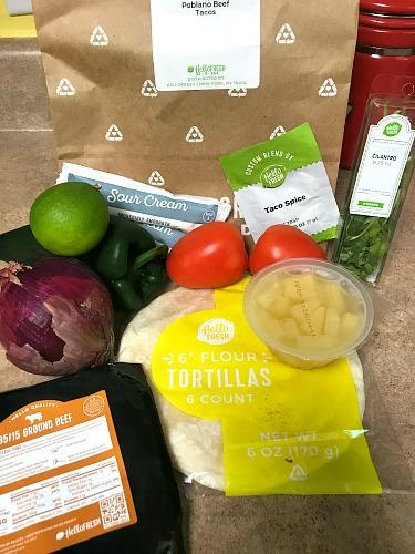 HelloFresh Meals Review