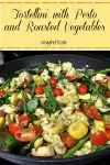 Tortellini with Pesto and Roasted Vegetables