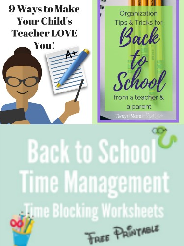 17 Awesome Back to School Organizing Strategies plus Printables-3