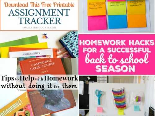 17 Awesome Back to School Organizing Strategies plus Printables-4