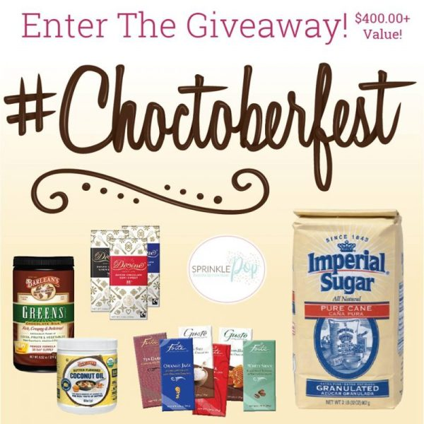 #Choctoberfest 2018 giveaway image