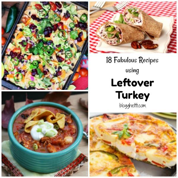18 Fabulous Leftover Turkey Recipes