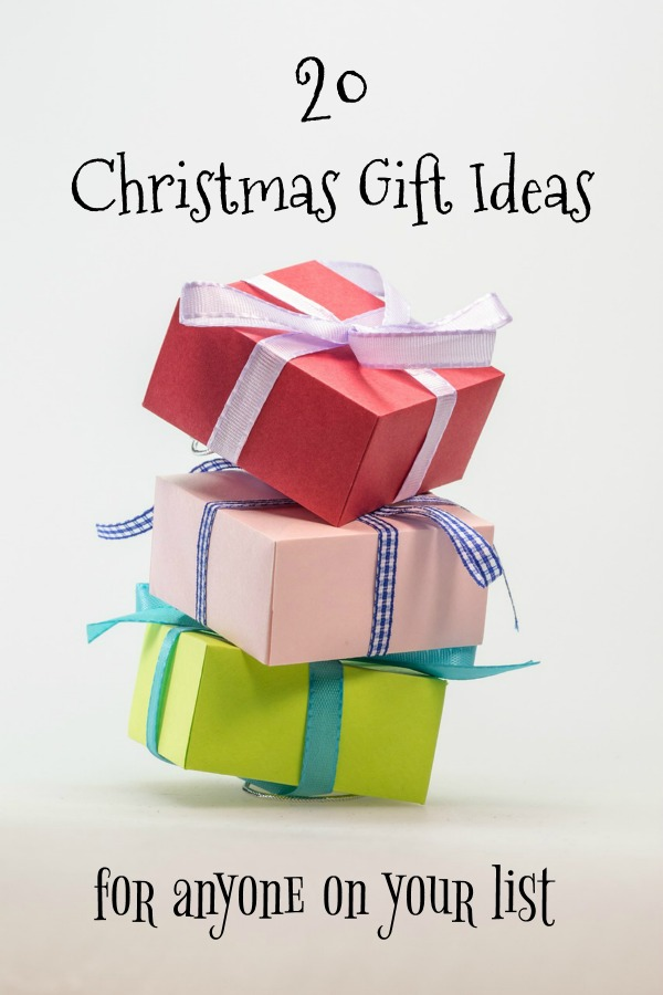 20 Christmas gift ideas