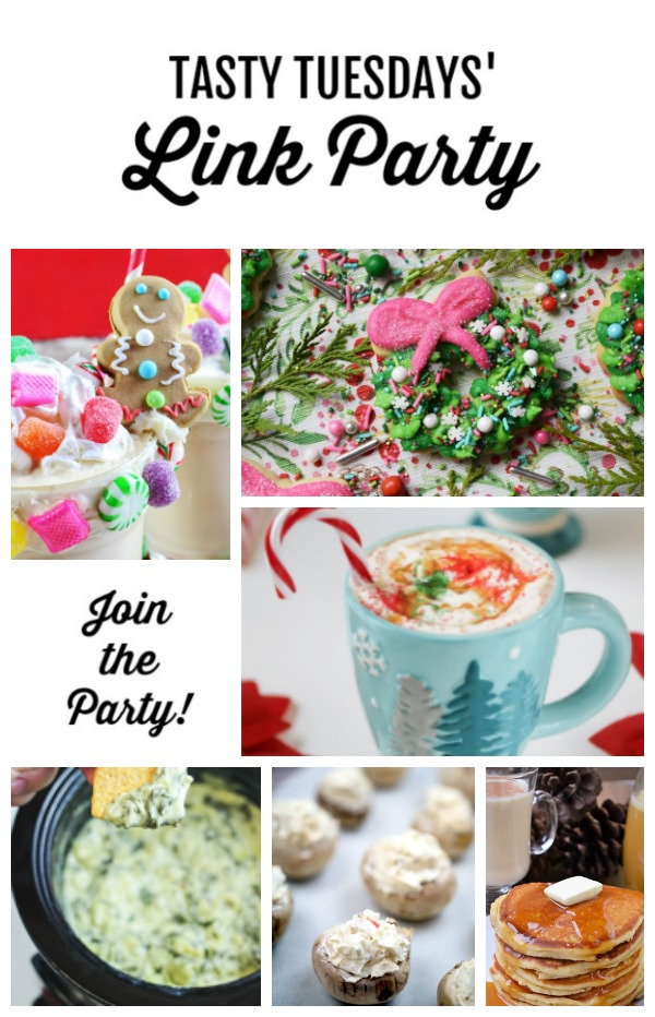 Welcome to this week's Tasty Tuesdays' Link Party where we are dishing the best recipes. Each week, food bloggers link up their very best and tasty recipes and we want you to join us!
