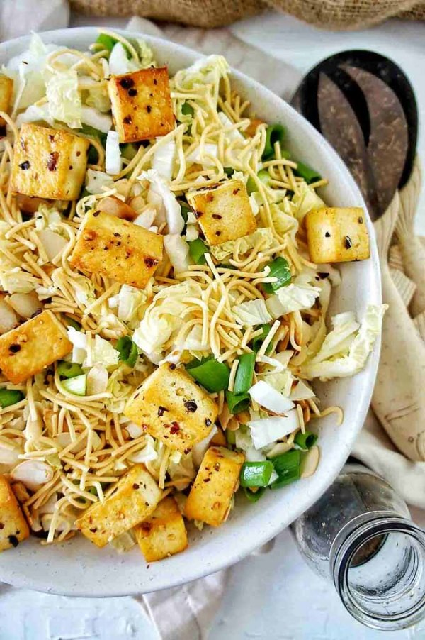 Crispy-Tofu-Noodle-Salad-Whole Food Bellies