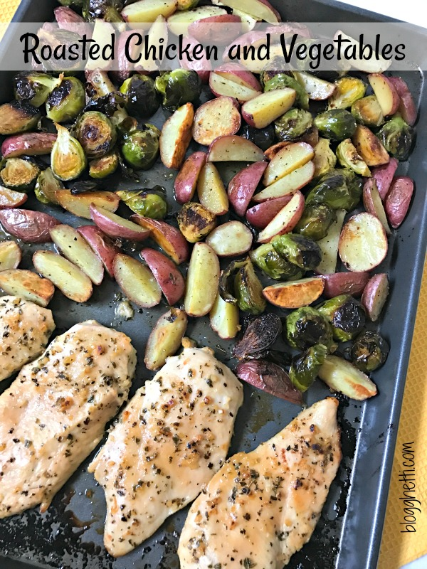 Sheet Pan Roasted Chicken and Vegetables - Blogghetti