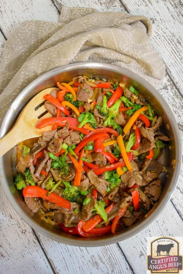 Keto Spicy Beef and Broccoli Stir Fry from Grumpy's Honeybunch