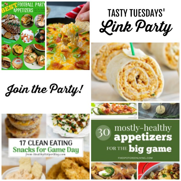 Welcome to this week's Tasty Tuesdays' Link Party where we are dishing up the best recipes.  Each week, food bloggers link up their very best and tasty recipes and we want you to join us! #TastyTuesdays #linkparty
