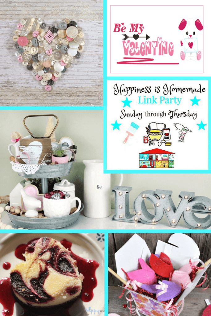 It's time for Happiness is Homemade Link Party and we're so glad you're joining us! We've got the best recipes, DIY projects, crafts, home decor ideas, and so much more. #HappinessIsHomemade #linkparty