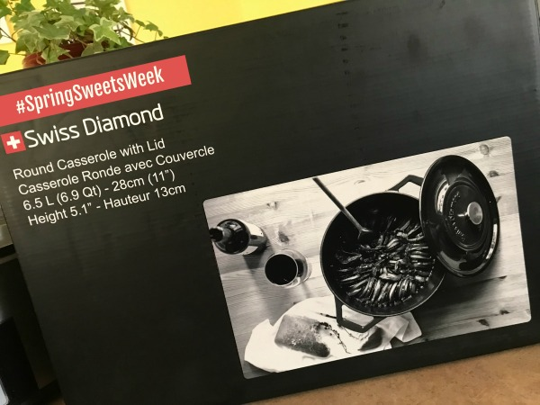 Swiss Diamond Cast Iron Casserole
