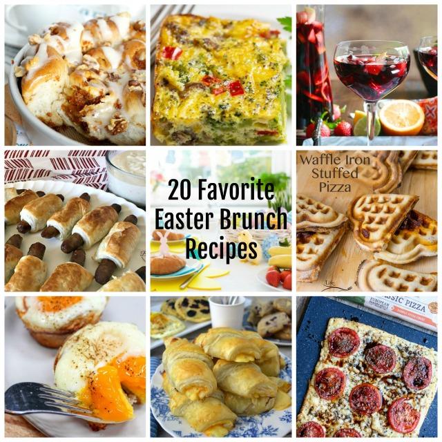 20 Favorite Easter Brunch Recipes On Tasty Tuesdays' Link
